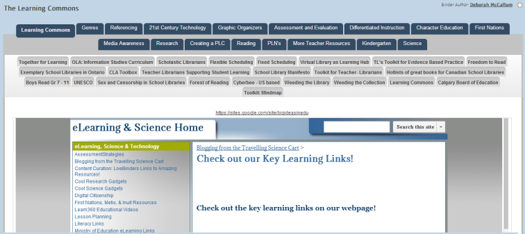 LiveBinders_Learning_Commons_picture