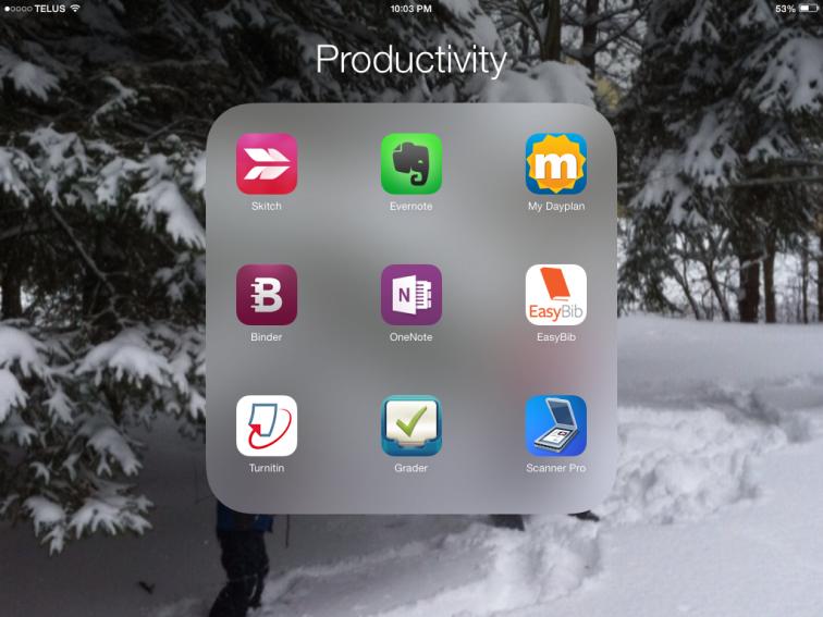 My Productivity App List