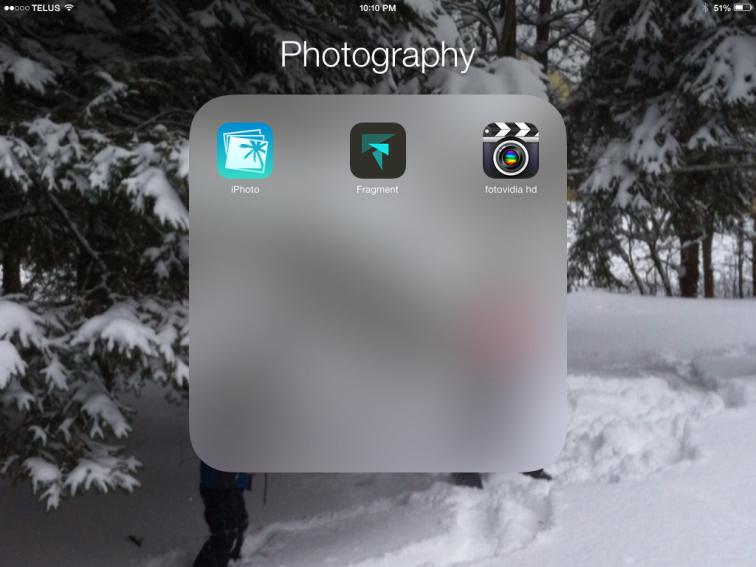 Photography App List
