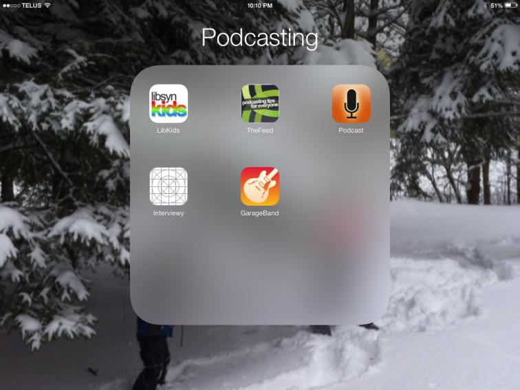 Podcasting App List