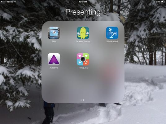 Presenting App List 2