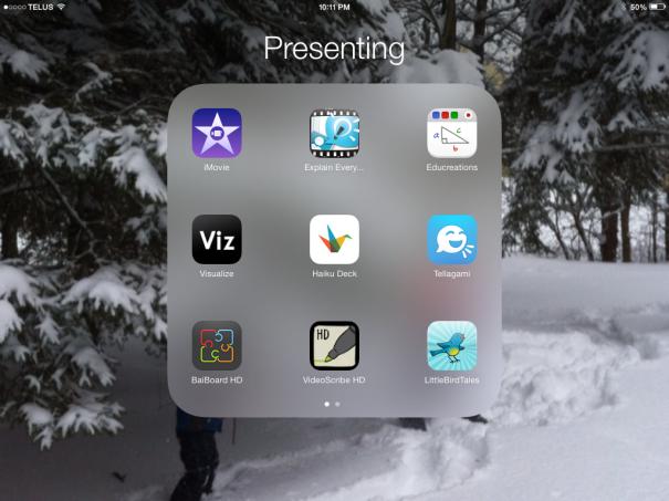 Presenting App List